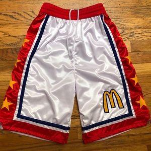 2002 McDonalds All American shorts nba jordan
